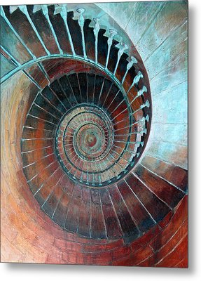 Feel Your Presence And Its Inherent Vibration Metal Print by Elizabeth D'Angelo