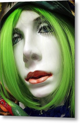 Feeling Green Metal Print