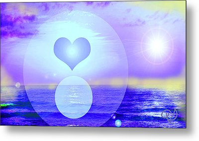 Feeling Heart Metal Print