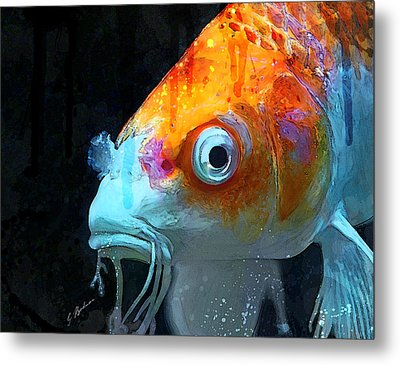 Feeling Koi Metal Print