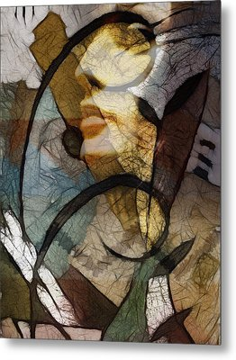 Feelings Metal Print by Ann Croon