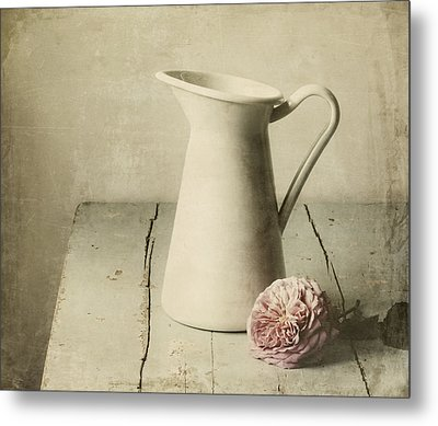 Femininity Metal Print by Amy Weiss