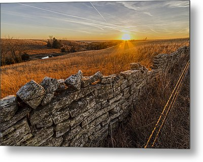 Fences Metal Print by Scott Bean