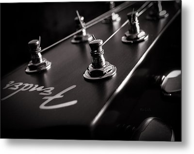 Fender Acoustic I Metal Print by Bob Orsillo