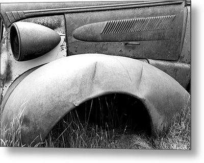 Metal Print featuring the photograph Fender Bender 2 by Jim Snyder