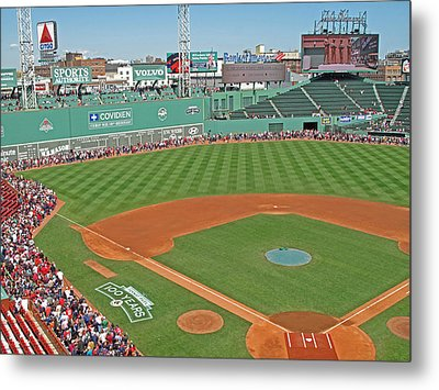 Fenway One Hundred Years Metal Print by Barbara McDevitt