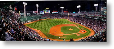 Fenway Park Boston 0476 Metal Print