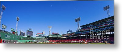 Fenway Park- Home Of The Boston Red Sox Metal Print by Diane Diederich