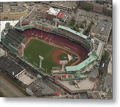 Fenway Park Metal Print by Joshua House