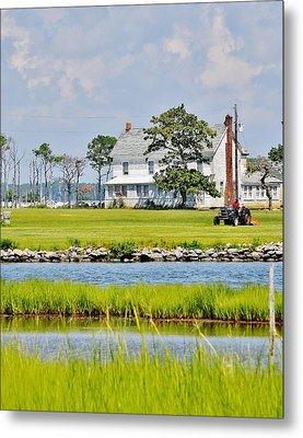 Fenwick Island Farmhouse - Delaware Metal Print