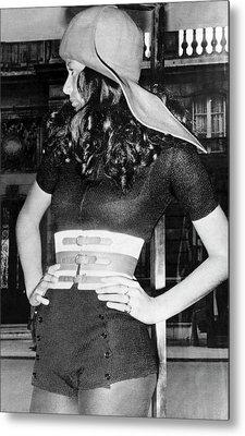 Feraud Paris Fashion Metal Print by Underwood Archives