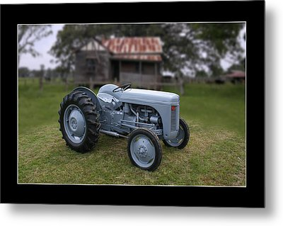 Metal Print featuring the photograph Fergie Tractor by Keith Hawley