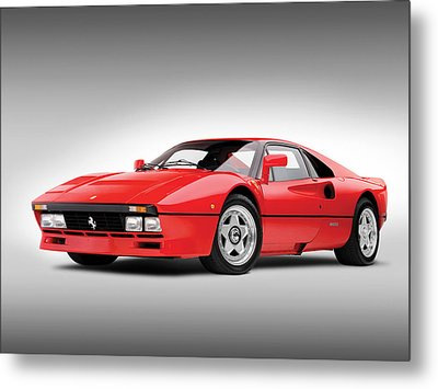 Ferrari 288 Gto Metal Print by Gianfranco Weiss