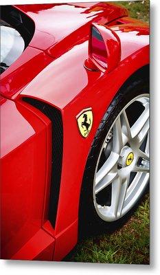 Ferrari Enzo Metal Print by Phil 'motography' Clark