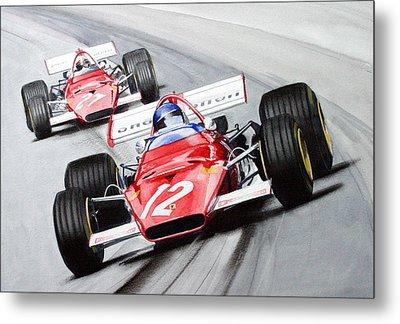 Ferrari  F1 1970 Metal Print