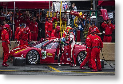Ferrari Of Vancouver Metal Print by Bill Linhares