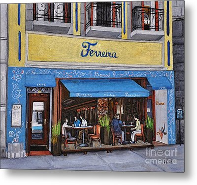 Ferreira Cafe  Metal Print by Reb Frost