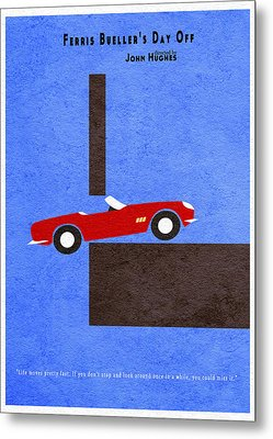 Ferris Bueller's Day Off Metal Print by Ayse Deniz