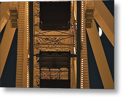 Ferris Metal Print by Joseph Yarbrough