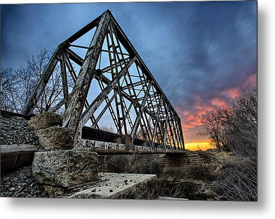 Ferrous Metal Print by Thomas Zimmerman
