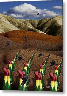 Fertile Ground Metal Print by Keith Dillon