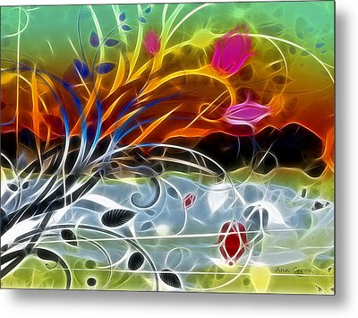 Festival Metal Print by Ann Croon