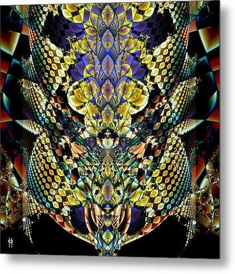 Festooned Metal Print by Jim Pavelle