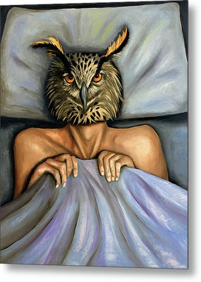 Fetish Nightmare 2 Metal Print by Leah Saulnier The Painting Maniac