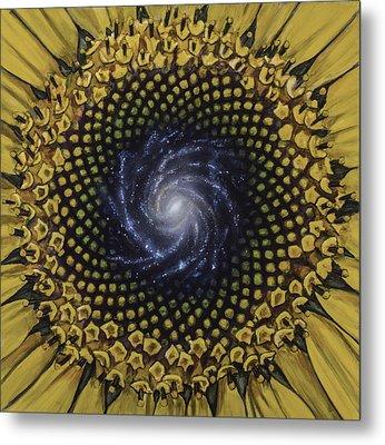 Fibonaccis Mandela V.2 Metal Print by Simon Kregar