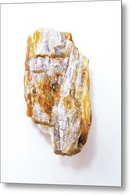 Fibrous Sillimanite Metal Print