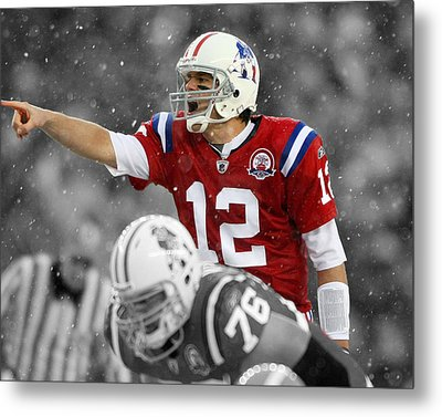 Field General Tom Brady  Metal Print
