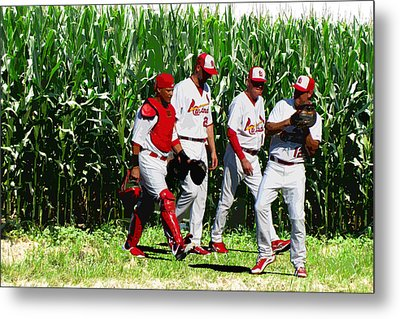 Field To Field Metal Print