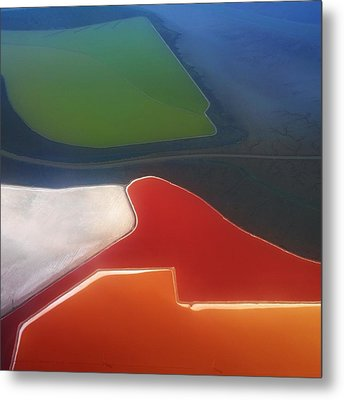Fields Metal Print by Alexander Fedin