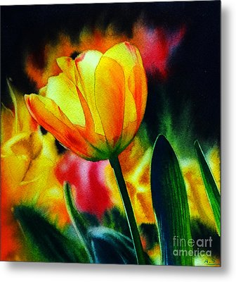 Fields Of Gold Metal Print by Arena Shawn