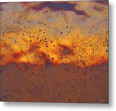 Fiery Horizon Metal Print by Sami Tiainen