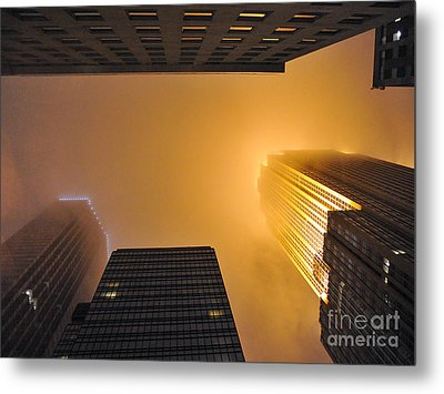 Fiery Look Up Metal Print by Graham Taylor