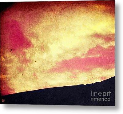 Fiery Sky Metal Print by Andy Heavens