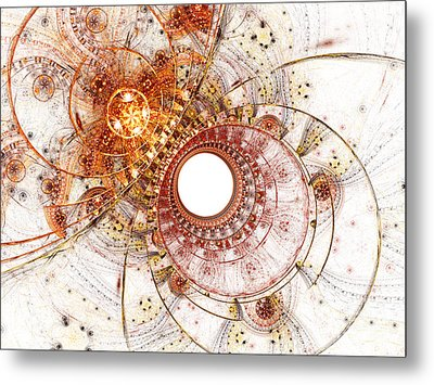 Fiery Temperament Metal Print by Eli Vokounova