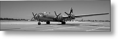 Fifi.  Enola Gay's B29 Superfortress Sister Visits Modesto Kmod. Metal Print
