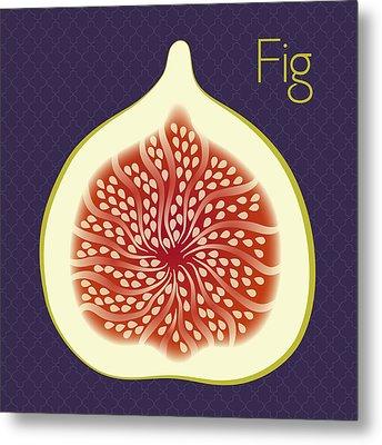 Fig Metal Print