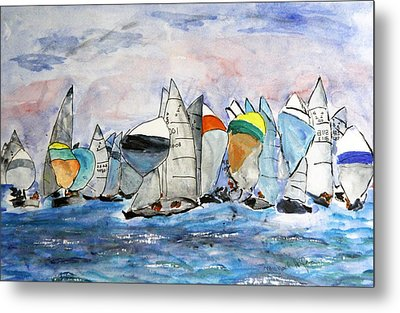Figawi Dash Metal Print by Michael Helfen