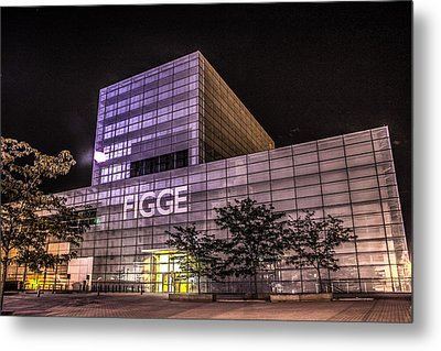 Figge Art Museum Metal Print by Ray Congrove