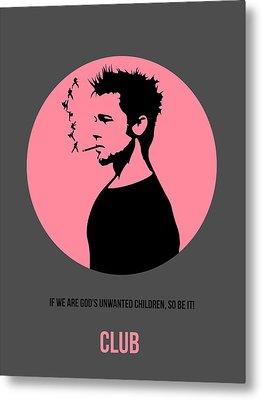 Fight Club Poster 1 Metal Print by Naxart Studio