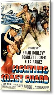 Fighting Coast Guard, Us Poster Metal Print