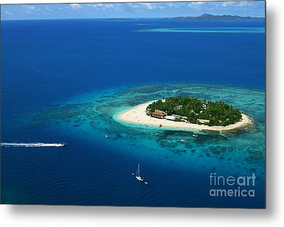 Fiji - South Pacific Paradise Metal Print by Lars Ruecker