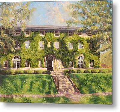 Fiji Fraternity House Purdue Metal Print by Steve Haigh