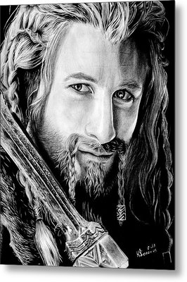 Fili The Dwarf Metal Print