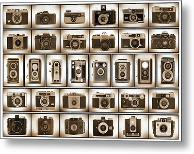 Film Camera Proofs Metal Print by Mike McGlothlen