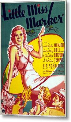 Film Little Miss Marker Metal Print
