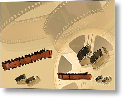 Films Metal Print by Tina M Wenger